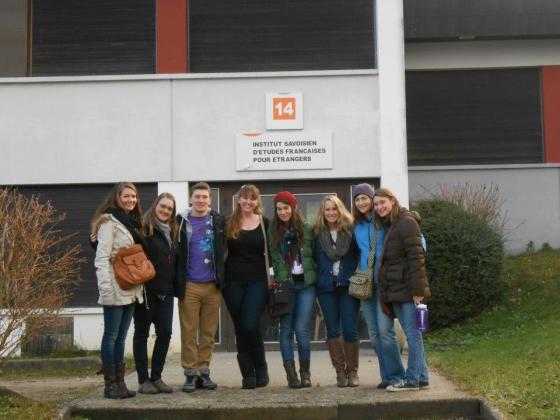 study abroad France ISEP Université de Savoie Chambéry