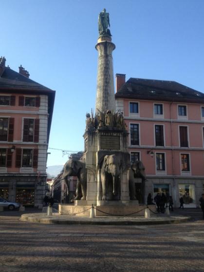 study abroad France Chambéry Les Elephants