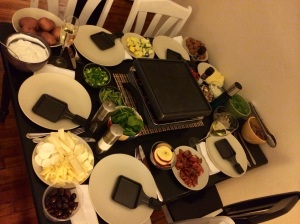 A raclette feast!