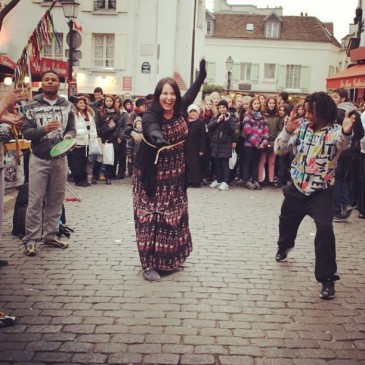 ISEP student Lucia Hernandez shares a super fun (and super grandma/work appropriate) photo of her dancing in Amiens, France.
