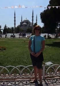 Nancy in Istanbul