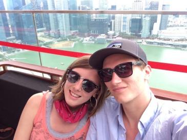 Madeleine and Jesse are studying at Universiti Pendidikan Sultan Idris in Malaysia.
