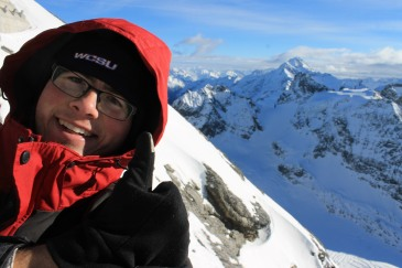 Anthony crossed off a huge bucket-list (visiting the Alps) while he studied abroad in Spain.