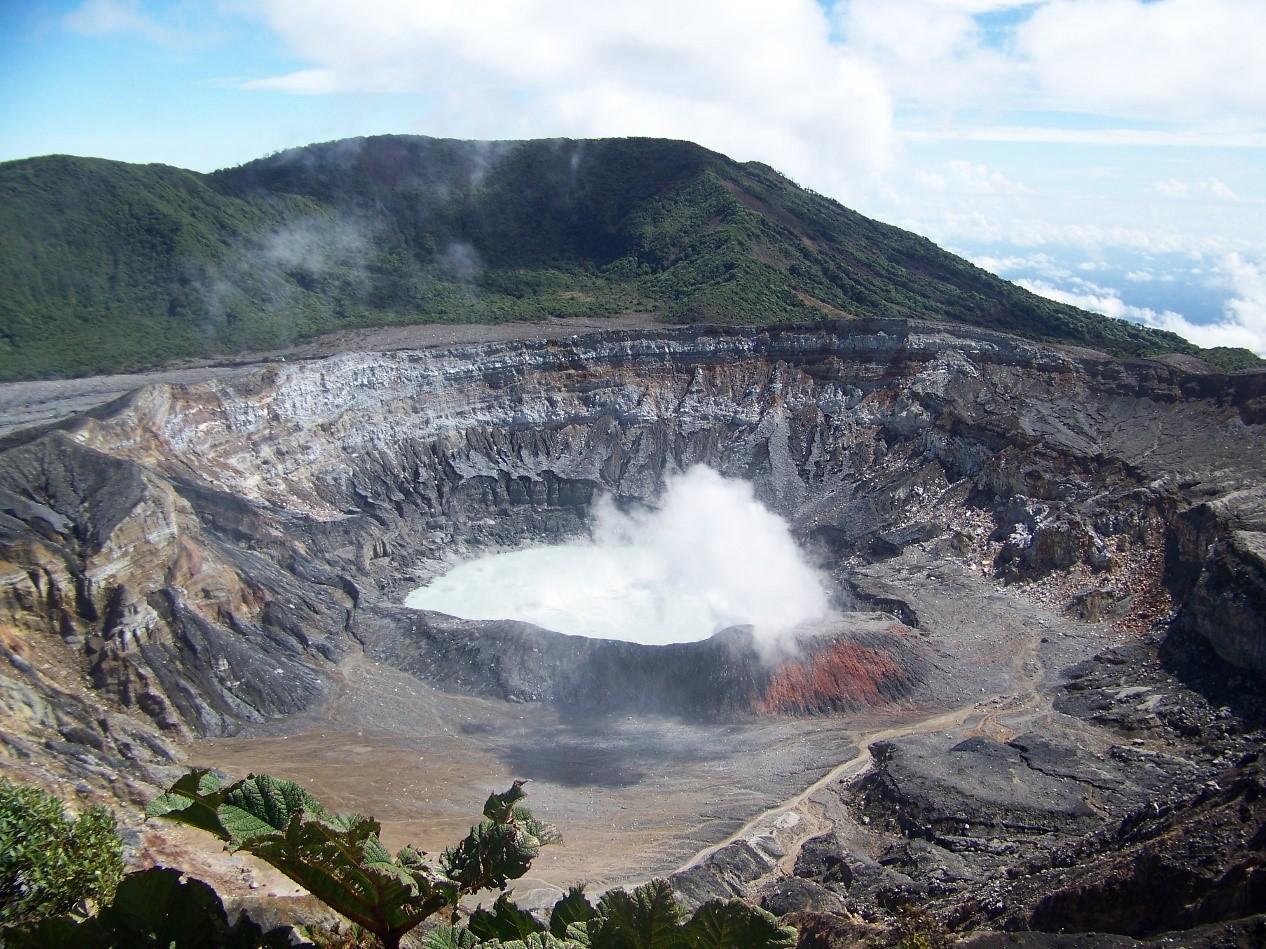 Visit Volcan Poas in Costa Rica